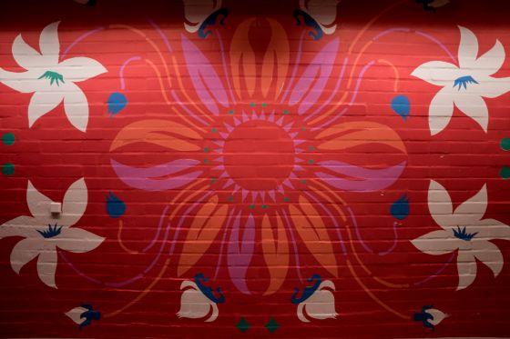 Poul Gernes, Vægmaleri udsnit, 1981
